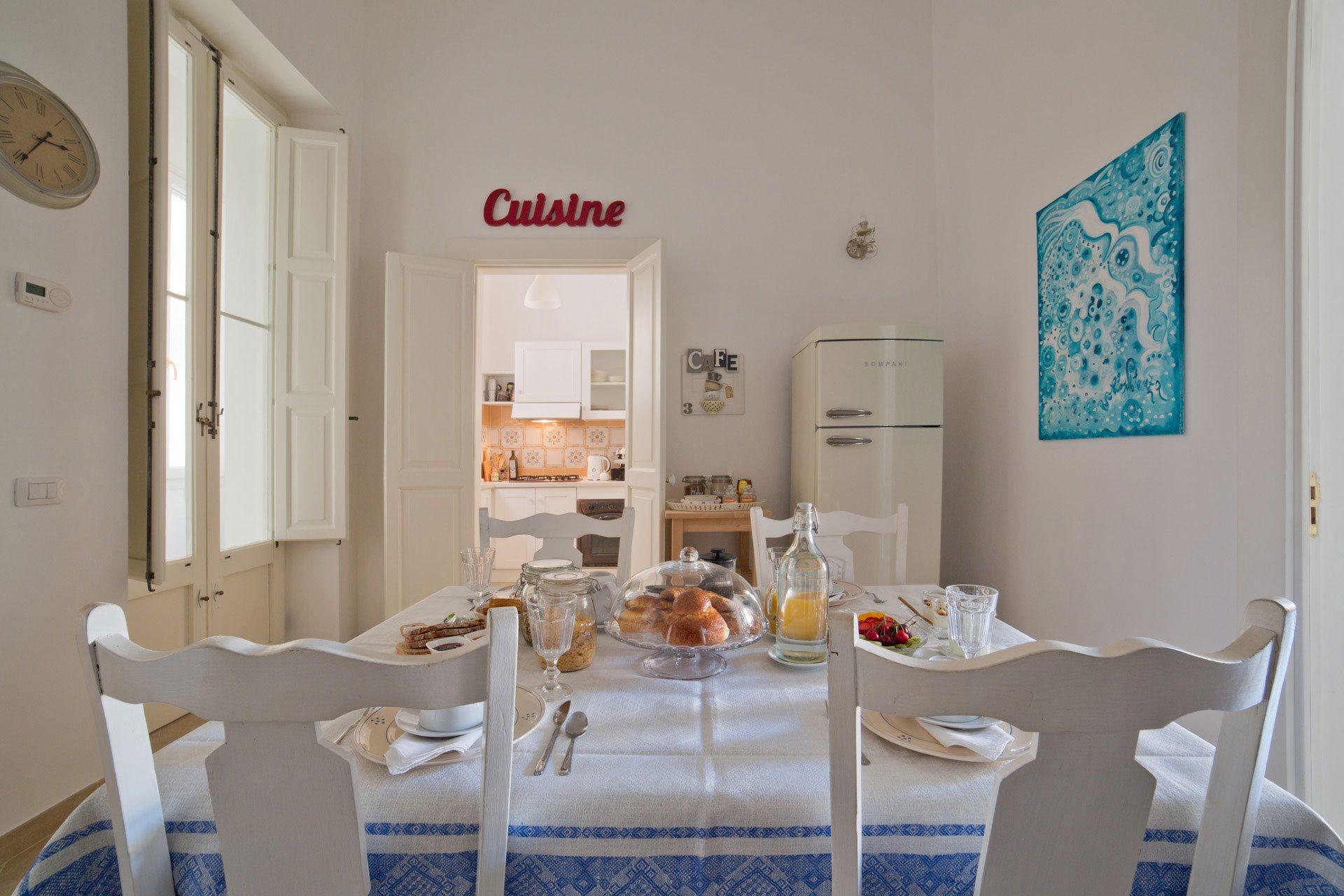 nuvole barocche sala pranzo cucina